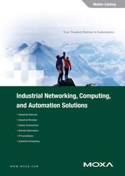Master-каталог MOXA Industrial Networking, Computing and Automation Solutions 2011
